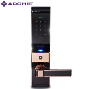 Smart Fingerprint Entry Door Locks J2021-02 The lock body is durable and not easy to rust