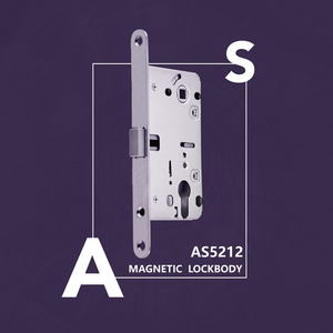 Magnetic door lock body Lockcase AS5212 is one of the most important structures in the lock body