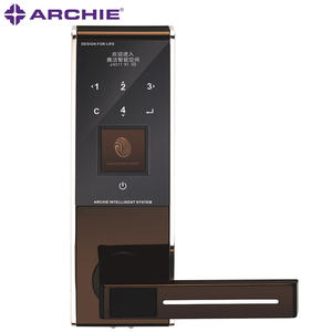 Smart Fingerprint Door Lock is very different from traditional mechanical locks