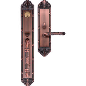 Antibacterial Lever Door Handles are made of alloy
