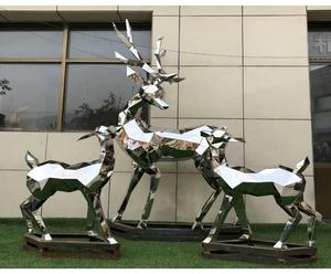 China Metal deer sculpture manufacturers