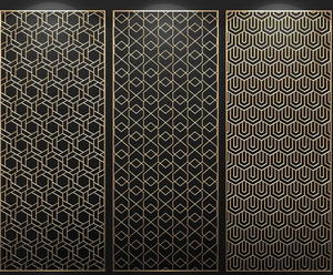 customized China Stainless steel decorative metal screen panel