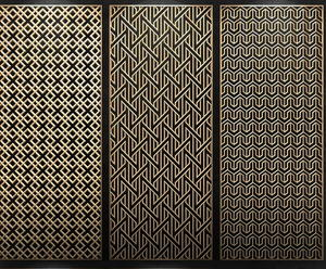 custom-made Stainless steel laser cut screen panel  manufacturers