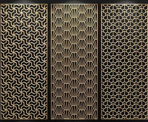 custom-made China Stainless Steel Laser Cut Decorative Panel manufacturers