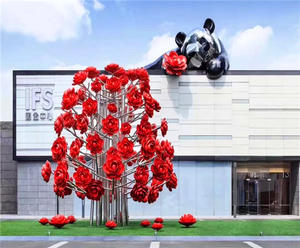 Customized Outdoor Wall Sculpture manufacturers, suppliers and factory