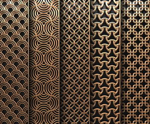 customized stainless steel laser cut metal panels and screens  suppliers