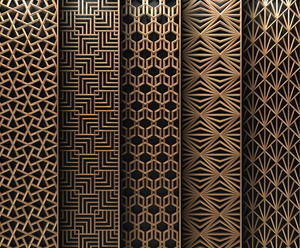 Stainless Steel Laser Cut Metal Screen Panel