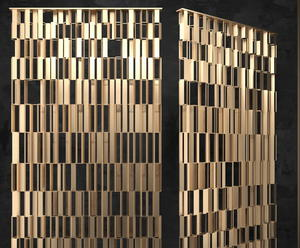 Stainless Steel Laser Cut Metal Wall Panel