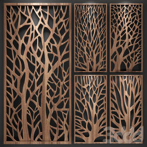 Stainless Steel Laser Cut Wall Panel