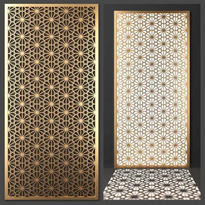 China stainless steel laser cut decorative wall panel  factory