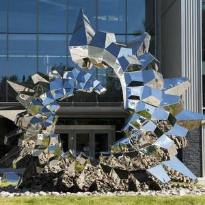 Large Outdoor Metal Sculptures