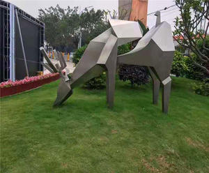 Custom-made large metal garden sculptures manufacturers, factory and suppliers