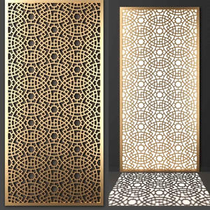 Stainless Steel Laser Cut Panels