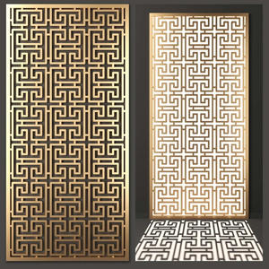China custom-made stainless steel laser cut screen design   manufacturers