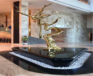 Customized stainless steel tree sculpture manufacturers, factory and suppliers