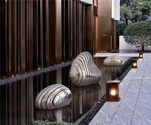Stainless Steel Sculpture For Hotel Decoration