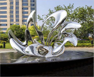 Hotel Yard Decoration Stainless Steel Sculpture