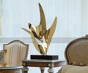 Hotel Lobby Decoration Stainless Steel Sculpture Manufacturers and Suppliers