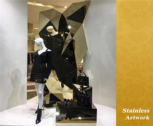 China Manufacturer of Stainless Steel Sculpture For Shopping Mall