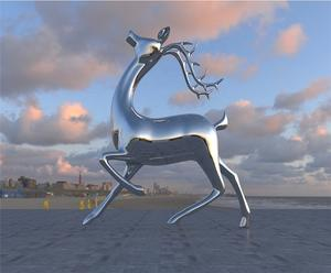 Decorative Stainless Steel Sculpture