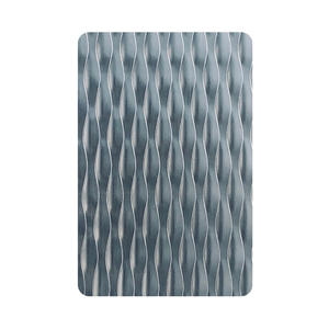 Embossed Finish 5WL Stainless Steel Sheet Suppliers and Manufacturers