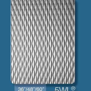 2WL 5WL 6WL Embossed Stainless Steel Plate