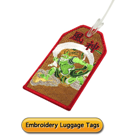 Embroidery Luggage Tags