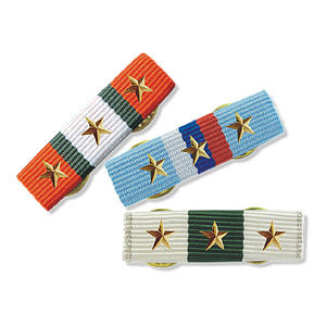 Medal ribbons is used with military & school medal.