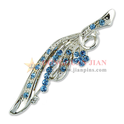 rhinestone brooch pin