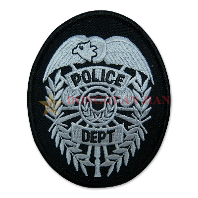 Personalized Embroidered Badges
