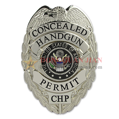concealed handgun permit badge