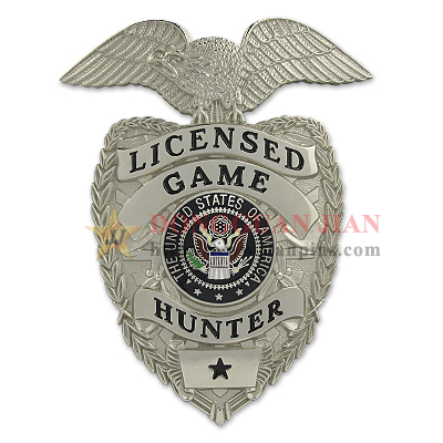 licensed game hunter badges