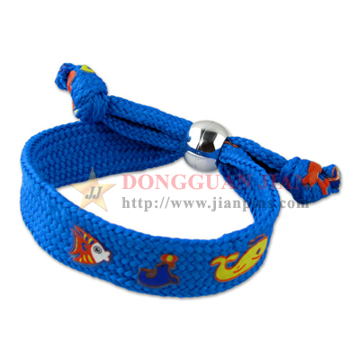 blue wrist lanyards