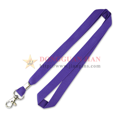 purple ECO friendly lanyards