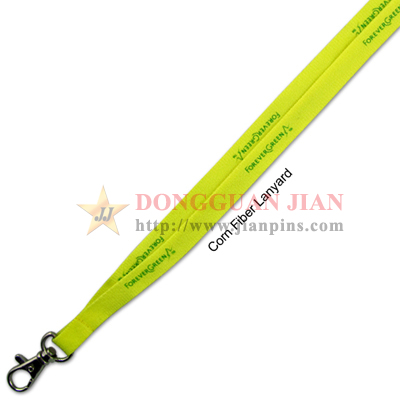 corn fiber lanyards