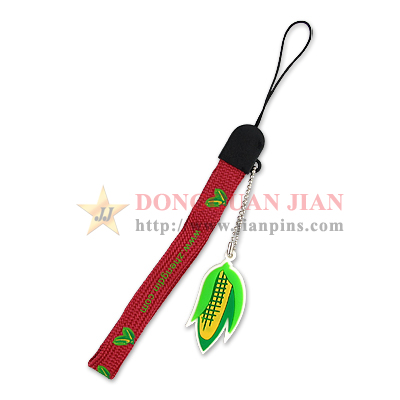 custom logo cell phone strap