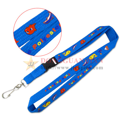 custom logo name lanyards