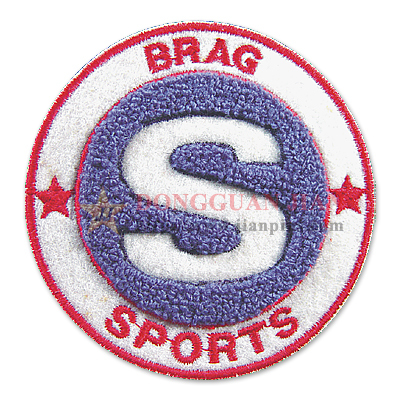chenille sports badges
