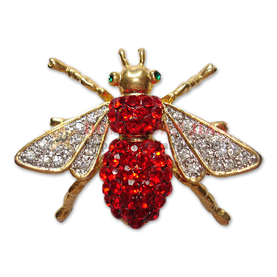Broches d'abeille