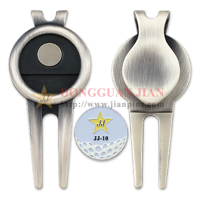 Antique Plating Golf Divot Tool