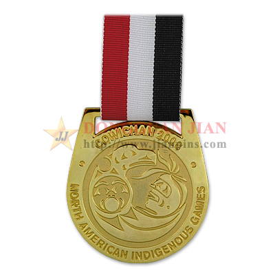 Medal with Neck Ribbons