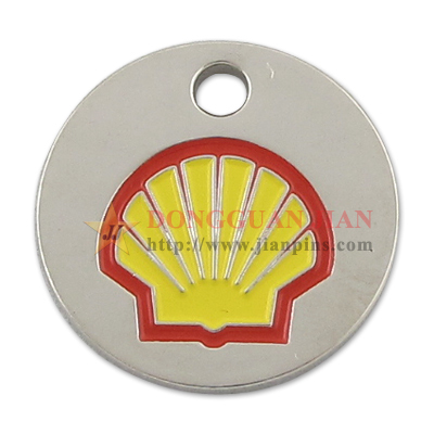 Company Trolley Coin Keyring