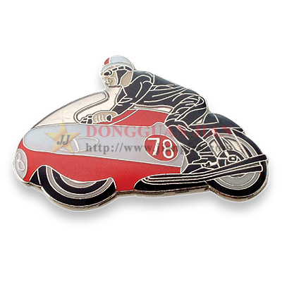 Motorcycle Soft Enamel Pins