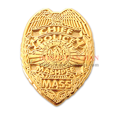 Police Bronze Badges