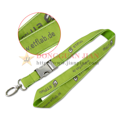 Customized Woven Lanyards