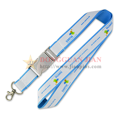 Custom Made Satin Lanyards