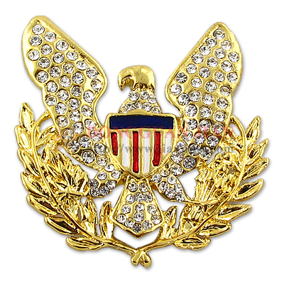 Special metal lapel pin