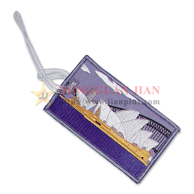 Embroidery Souvenir Luggage Tag