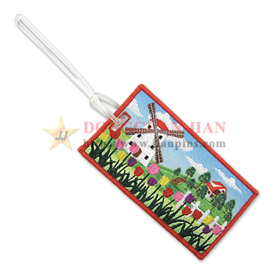 Embroidery Luggage Tag