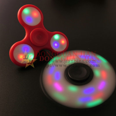 LED hand spinner toy